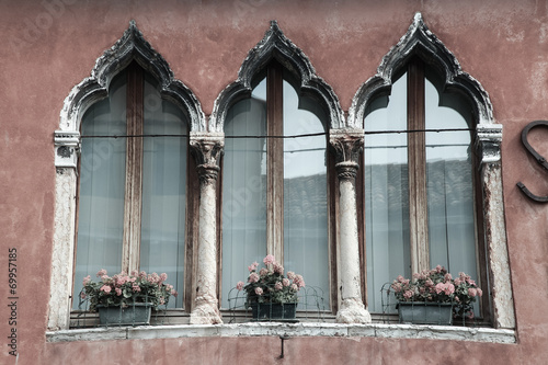 canvas print picture Venezianisches Fenster