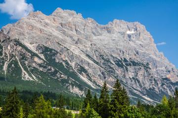 Beautiful Dolomite mountains near Cortina D'Ampezzo ,Pomagagnon