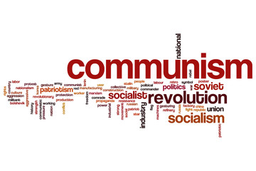 Communism word cloud
