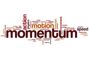 Momentum word cloud