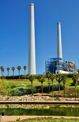 Power Plant Station in Israel