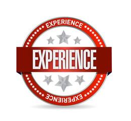 experience seal illustration design