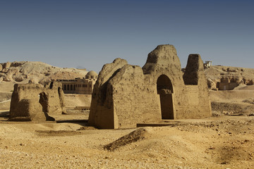 Ruined tombs