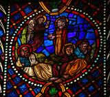 Jesus in the Garden of Gethsemane on Maundy Thursday