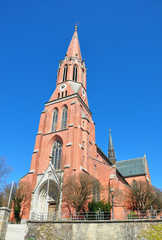 Kirche Sankt Nikolaus in Zwiesel, Bayern