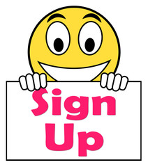 Sign Up On Sign Shows Register Online