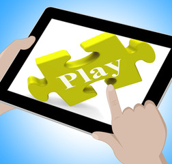 Play Tablet Means Fun And Games On Web