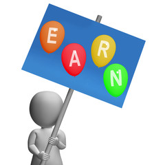 Sign Earn Balloons Show Online Earnings Promotions Opportunities