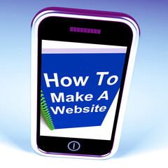 How to Make a Website on Phone Shows Online Strategy