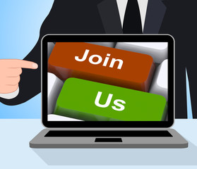 Join Us Computer Mean Membership Or Subscription