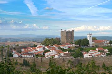 Braganca Castle in Braganca, Portugal