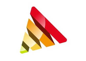 corporate logo business,Triangle shape,finance,house