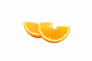 2 pieces of orange