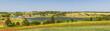 Landscape panorama of Prince Edward Island Canada