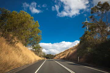 Australian mountain highway