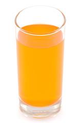 Orange juice glass.