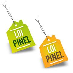 """Etiquette """"Loi Pinel"""""""