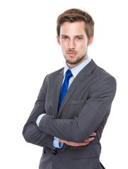 Caucasian businessman portrait