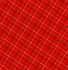 Seamless red gingham pattern