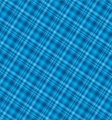 Seamless blue gingham pattern