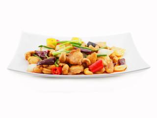 stir fried chicken with cashew nut