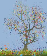 tajemnicze drzewo,