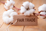 Fair Trade - Fairer Handel - Baumwolle