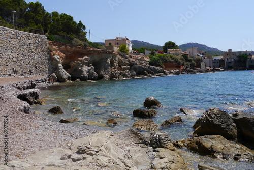 canvas print picture Bucht auf Mallorca