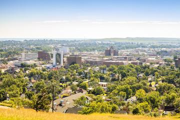 Panorama of Rapid City, South Dakota.