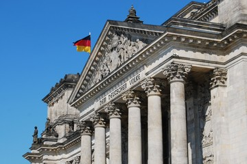 Reichstag government building, Berlin, Germany