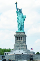Front view of Statue of Liberty - New York