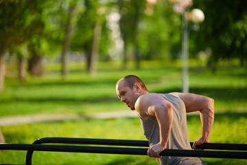 Exercising outside