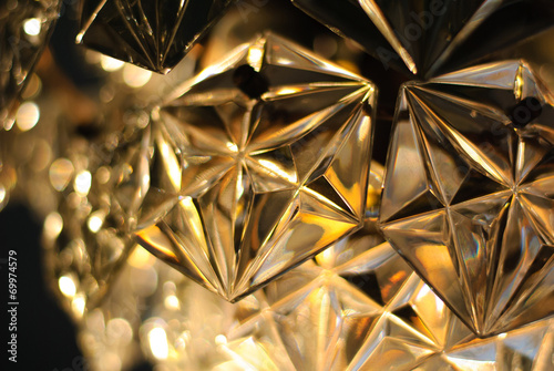 an abstract background is softly luminous electric light