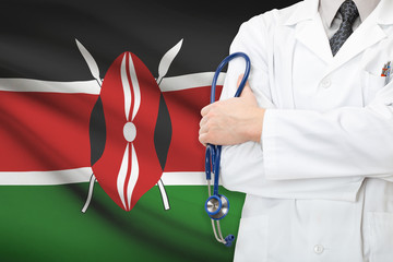 Concept of national healthcare system - Kenya