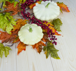 Autumn decoration of cymbling