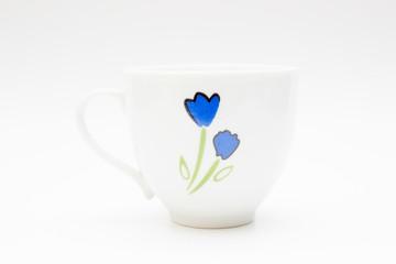 A coffe mug in white background.