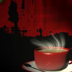 3d rendering Cup of coffee