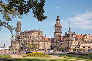 Dresden castle or Royal Palace, Saxony, Germany