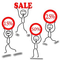 иллюстрация распродажа
