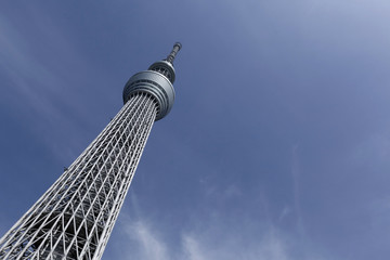 View of TOKYO Skytree,Japan