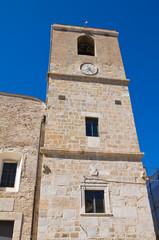Mother Church of Torremaggiore. Puglia. Italy.