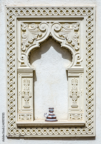 In de dag Tunesië Arabic decoration offering in tunisia
