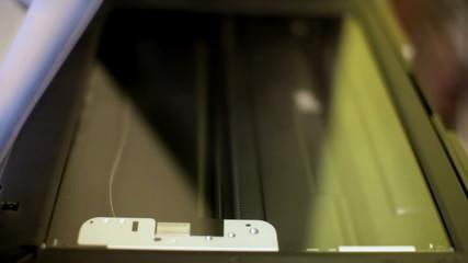 Office scanning machine