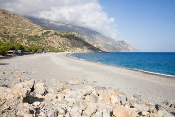 Sougia beach