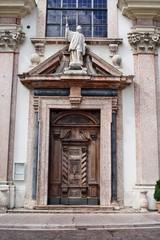 Facciata della Chiesa di San Francesco Saverio a Trento