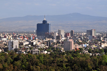 Aerial view of Mexico City - Mexico