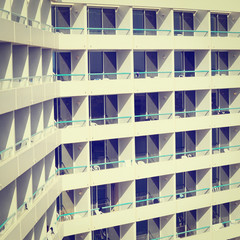 Rows of Balconies