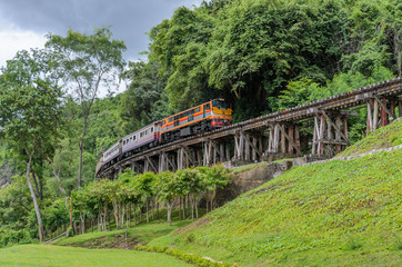 Death railway in Kanchanaburi Thailand - built during World War