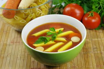 appetizing tomato soup