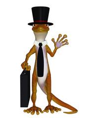 Gecko 3d the businessman